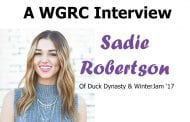 Sadie Robertson of Duck Dynasty and Winter Jam 2017