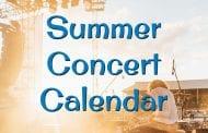 Summer Concert Calendar