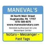 Maneval's Notary and Tag Service