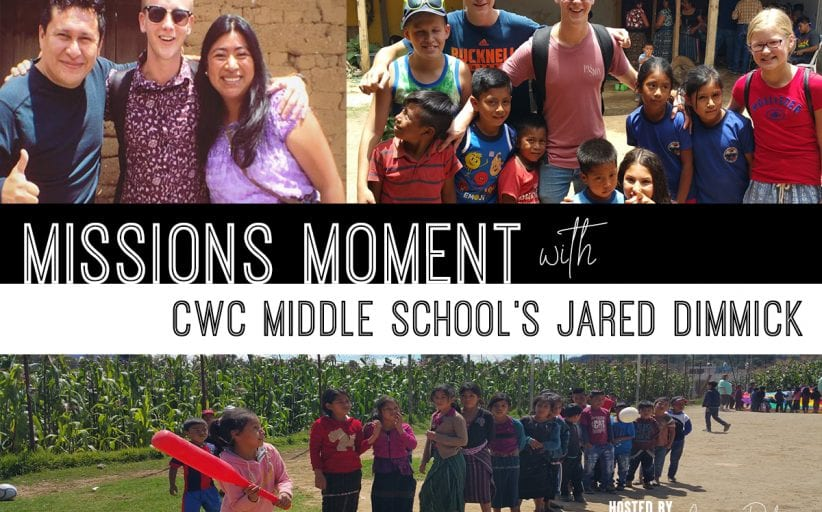 Jared Dimmick CWC Middle School