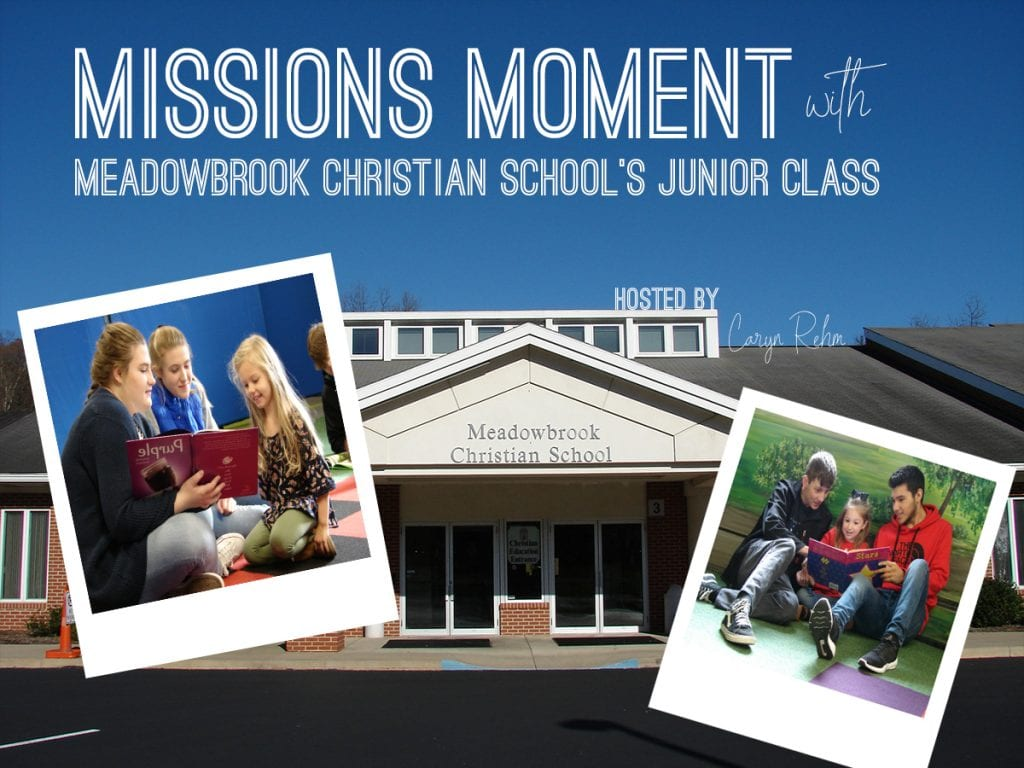 Meadowbrook Christian School's Junior Class