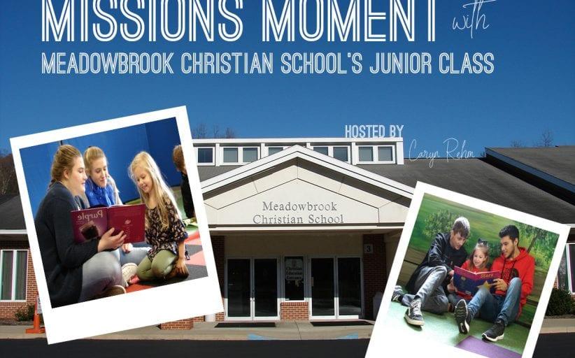 Meadowbrook Christian School's Junior Class