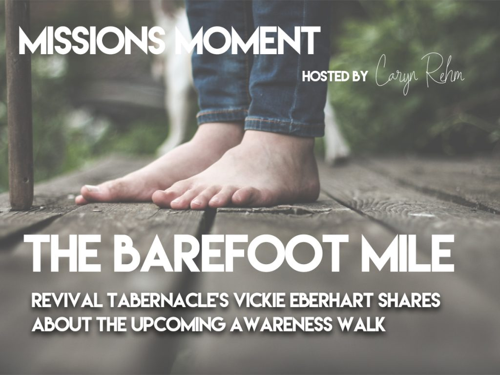 The Barefoot Mile || Awareness Walk