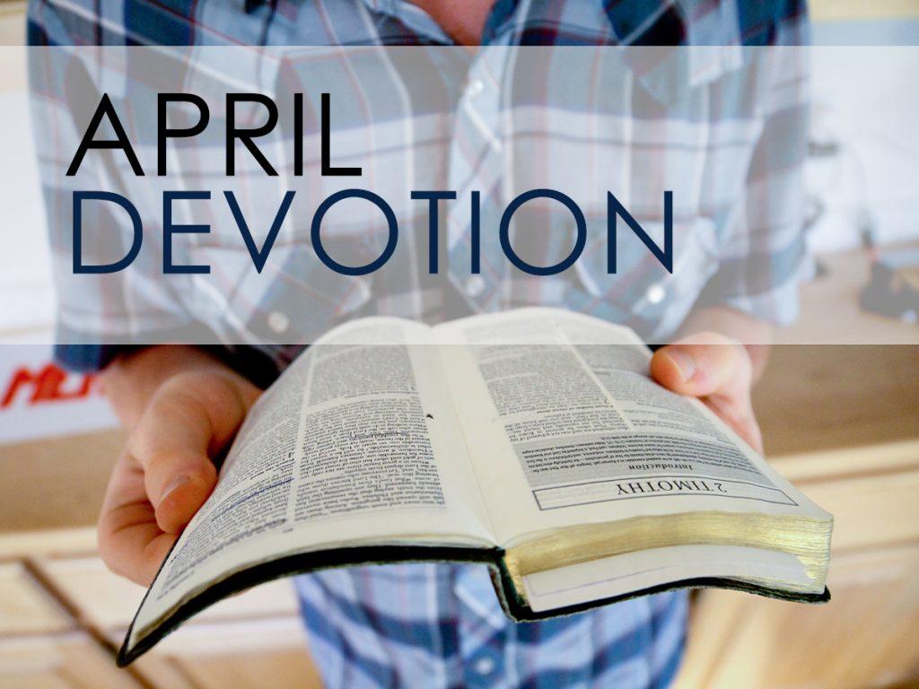 April Devotion